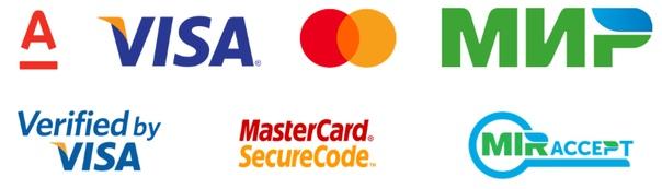 АЛЬФА-БАНК, VISA, MasterCard, МИР